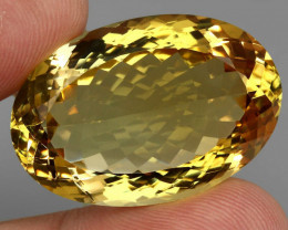 65.12 ct. 100% Natural Unheated Top Quality Yellow Golden Citrine Brazil