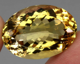 34.04 ct. 100% Natural Unheated Top Quality Yellow Golden Citrine Brazil