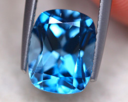 4.34ct Natural London Blue Topaz Octagon Cut Lot V8214