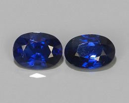 1.15 CTS EXCELLENT NATURAL ULTRA RARE MADAGASCAR OVAL BLUE SAPPHIRE!$350.00