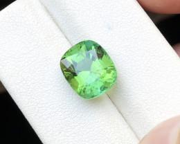 4.80 Ct Natural Greenish Blue Transparent Tourmaline Ring Size Gemstone