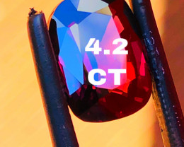 4.2 CT - SPINEL-Burma PERFECT SIZE FOR JEWELLERY- MASTER CUT