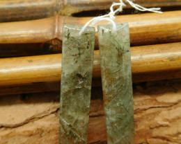 Natural gemstone earring pair (G2288)