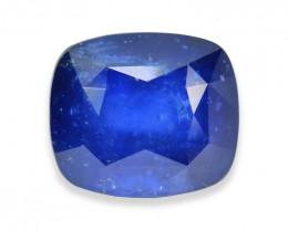 6.76 Cts Stunning Lustrous Blue Sapphire