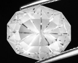 9.16 CT WHITE QUARTS TOP FANCY CUT GEMSTONE QF8