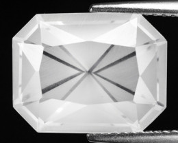 7.50 CT WHITE QUARTS TOP FANCY CUT GEMSTONE QF9