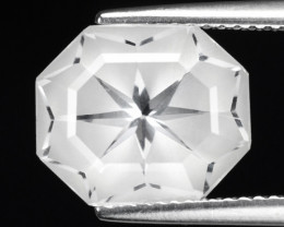 4.50 CT WHITE QUARTS TOP FANCY CUT GEMSTONE QF14