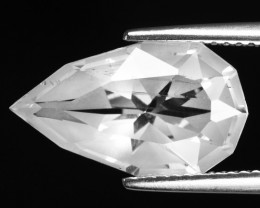 6.02 CT WHITE QUARTS TOP FANCY CUT GEMSTONE QF17