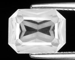 2.88 CT WHITE QUARTS TOP FANCY CUT GEMSTONE QF23