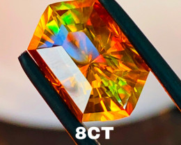 8.35 CT SPHALERITE - Beautiful rainbow effect- One of the most beautiful fr