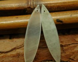 New design green quartz earring (G2309)