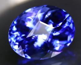 GIA Tanzanite 12.04Ct VVS Master Cut Natural Purplish Blue Tanzanite