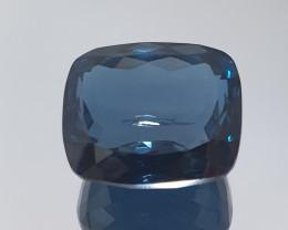 Big 34.2Ct London Blue Topaz Cushion  19.3x16.4mm (SKU 70)