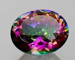 2.45Crt Mystic Quartz Natural Gemstones JI12