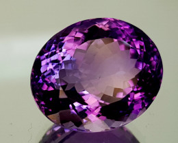 19Crt Amethyst Natural Gemstones JI12