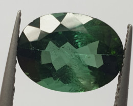 2.8 ct Indicolite Faceted  Oval Blue Tourmaline (SKU 90)
