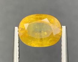 2.22 ct Yellow  Sapphire Gemstones