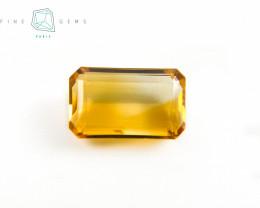 7.98 carats Natural Citrine Octa cut