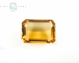 28.74 carats Natural Citrine Octa cut