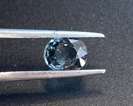 0.95ct natural blue grey spinel