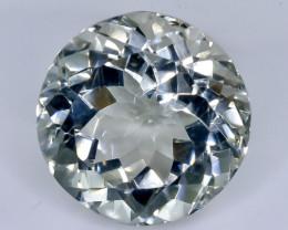 24.14 Crt Natural Green Prasiolite Amethyst  Faceted Gemstone.( AB 30)