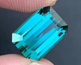 6.85 ct Indicolite Tourmaline From Afghanistan