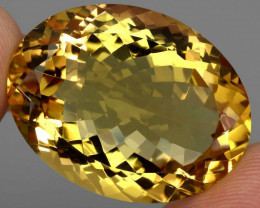 69.83 ct. 100% Natural Unheated Top Quality Yellow Golden Citrine Brazil