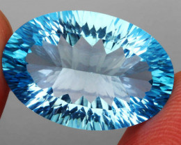 19.27 ct. 100% Natural Earth Mined Top Quality Blue Topaz Brazil