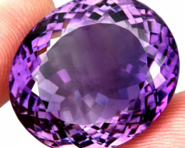 43.21 ct 100% Natural Earth Mined Unheated Purple Amethyst, Uruguay