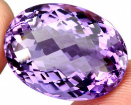 27.93 ct 100% Natural Earth Mined Unheated Purple Amethyst, Uruguay