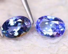 Tanzanite 1.75Ct Natural VVS Purplish Blue Tanzanite E2608/D3