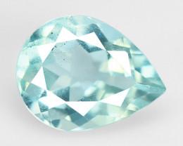 1.53 Cts Un Heated  Blue  Natural Aquamarine Loose Gemstone