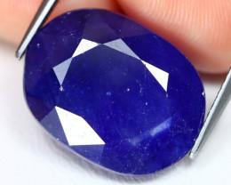 Blue Sapphire 19.55Ct Oval Cut Royal Blue Color Sapphire C2511