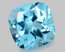 4.98 Carat Swiss Blue Natural Topaz Gemstone
