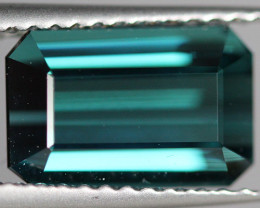 2.82 CT Indicolite tourmaline AAA Extra Fine Color !! - IT22