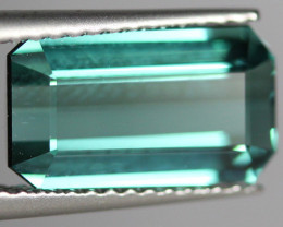 2.85 CT Indicolite tourmaline AAA Extra Fine Color !! - IT25