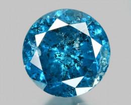 0.14 Cts Rare Fancy Blue Color Natural Loose Diamond
