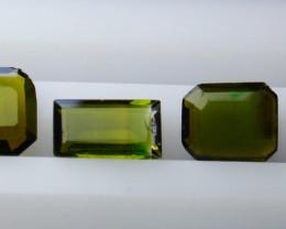 NR!!! 3.80 CTs Natural - Unheated Green Tourmaline Gemstone Lot