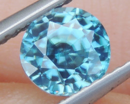 1.58cts Blue Zircon from Cambodia