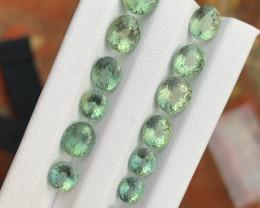 15.55 carats Greeen apatite LOOSE GEMSTONES