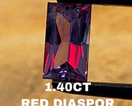 RED DIASPOR- UNIQUE-RARE— INCREDIBLE BEAUTIFUL!!