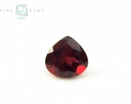 3.37 carats Natural Garnet Pear cut