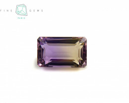 6.04 carats Natural Ametrine Gemstone Octa cut