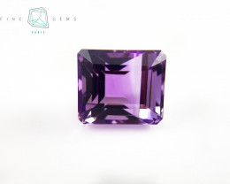 13.96 carats Natural Amethyst Purple  Gemstone  Octa Mixed  cut