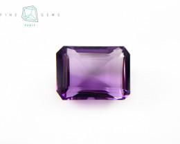 23.48 carats Natural Amethyst Purple  Gemstone Octa Mixed cut