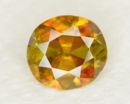 Top Dispersion 1.50 Ct Natural Titanite Sphene