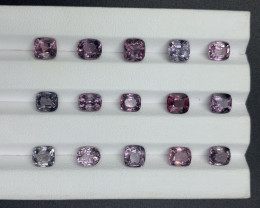 19.89 ct Spinel Gemstones Parcel 15 pc