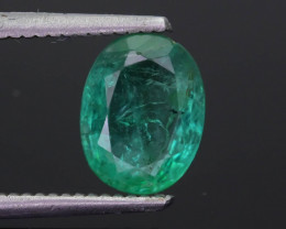 1.97 ct Zambian Emerald Vivid Green Color SKU-30