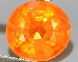 3.00 Cts~Natural Shocking Fanta Orange Spessartite Garnet Namibia, Amazing!