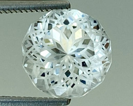 2.34Ct Aquamarine Amazing Cutting Exc Quality Gemstone From Pakistan.AQF 10